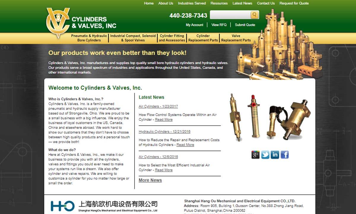 Cylinders & Valves, Inc.