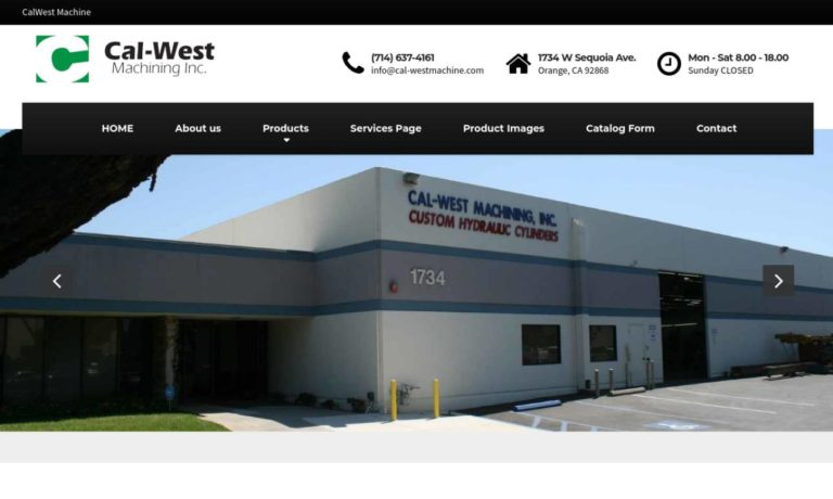 CAL-WEST Machining Inc.