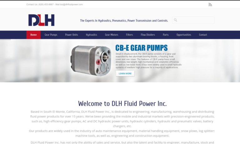 DLH Fluid Power Inc.