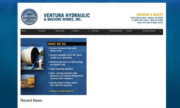 Ventura Hydraulic & Machine Works